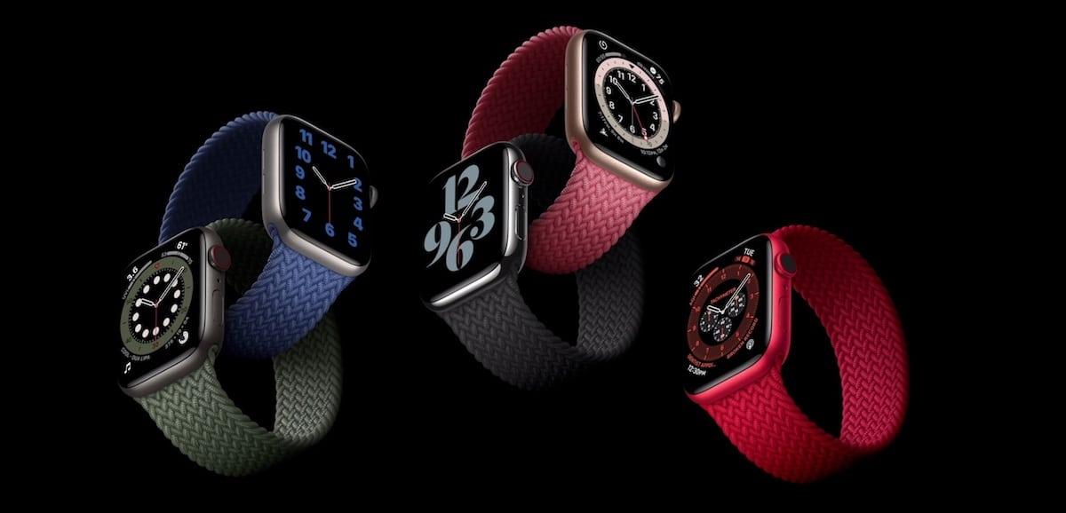 Apple Watch serie 6 design nouveaux bracelets
