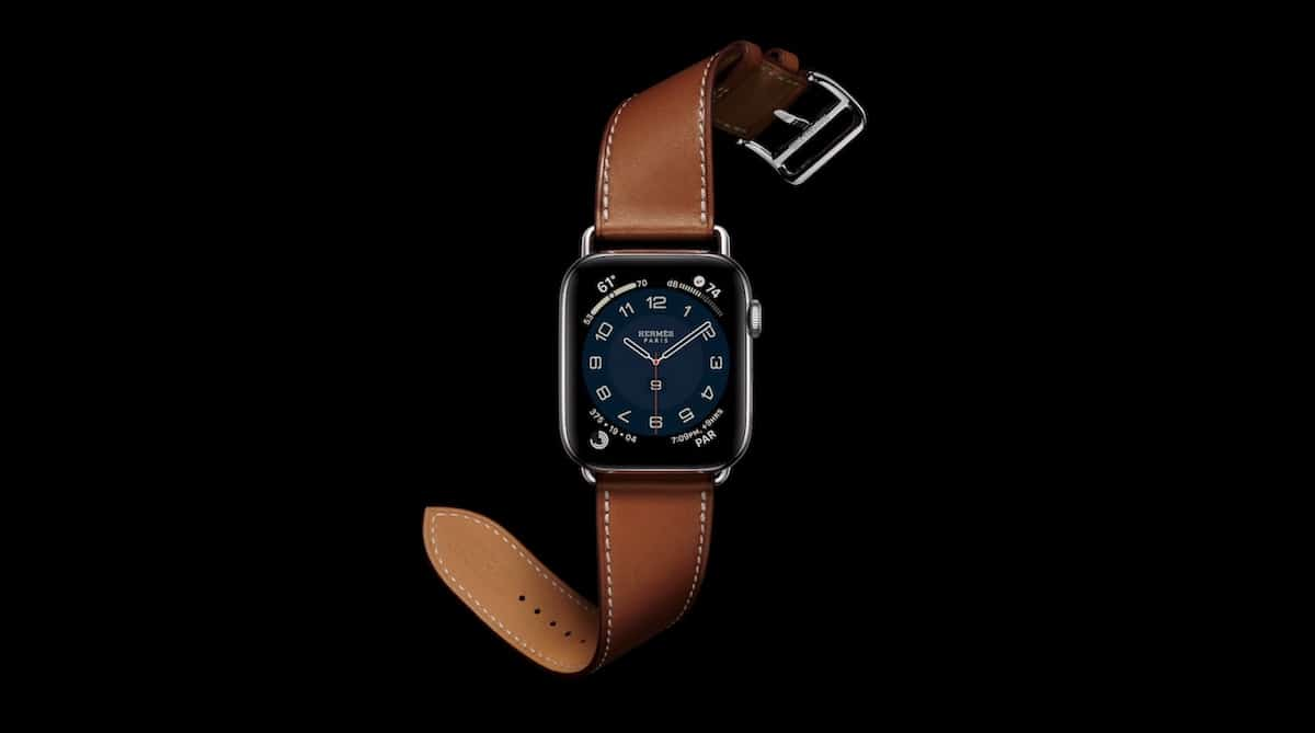 Apple Watch 6 bracelet cuir