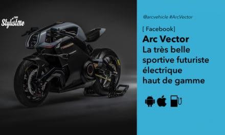 Arc Vector le kit ultime moto électrique casque et veste à retour haptique
