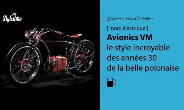 Avionics VM la moto électrique polonaise au style des années 30