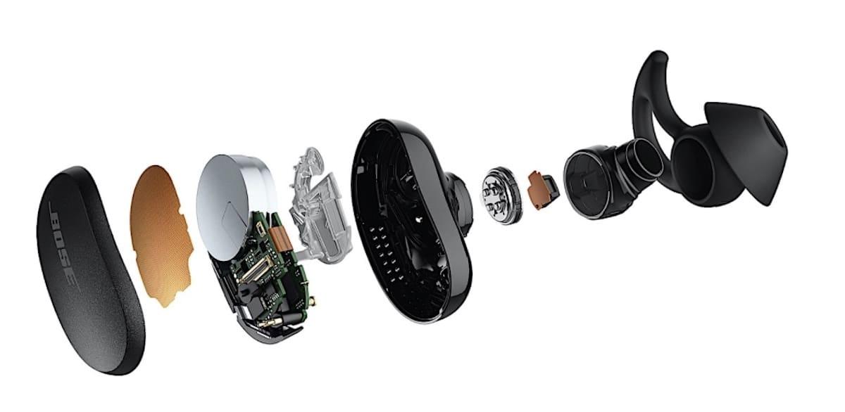 Bose écouteurs QC technologies