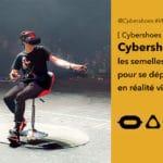 Cybershoes des sur-semelles pour marcher en réalité virtuelle