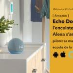 Echo Dot 4  la nouvelle enceinte Alexa d'Amazon se met en boule