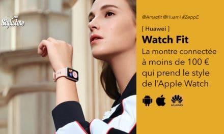 Huawei Watch Fit une montre connectée rectangulaire abordable