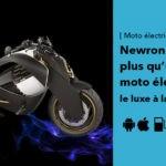 Newron EV-1: la moto électrique de luxe à la française