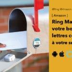 Ring Mailbox Sensor : la boite aux lettres connectée à votre smartphone