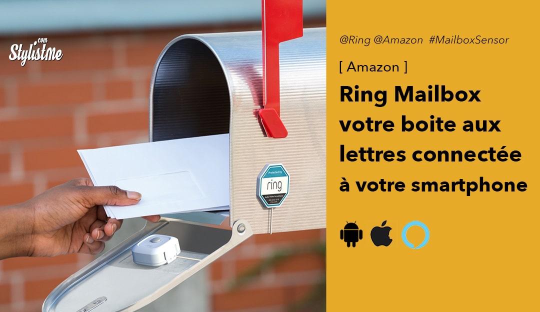 Ring Mailbox sensor capteur boite aux lettres