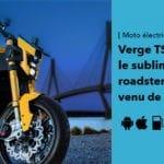 Verge TS le sublime roadster électrique à grande autonomie