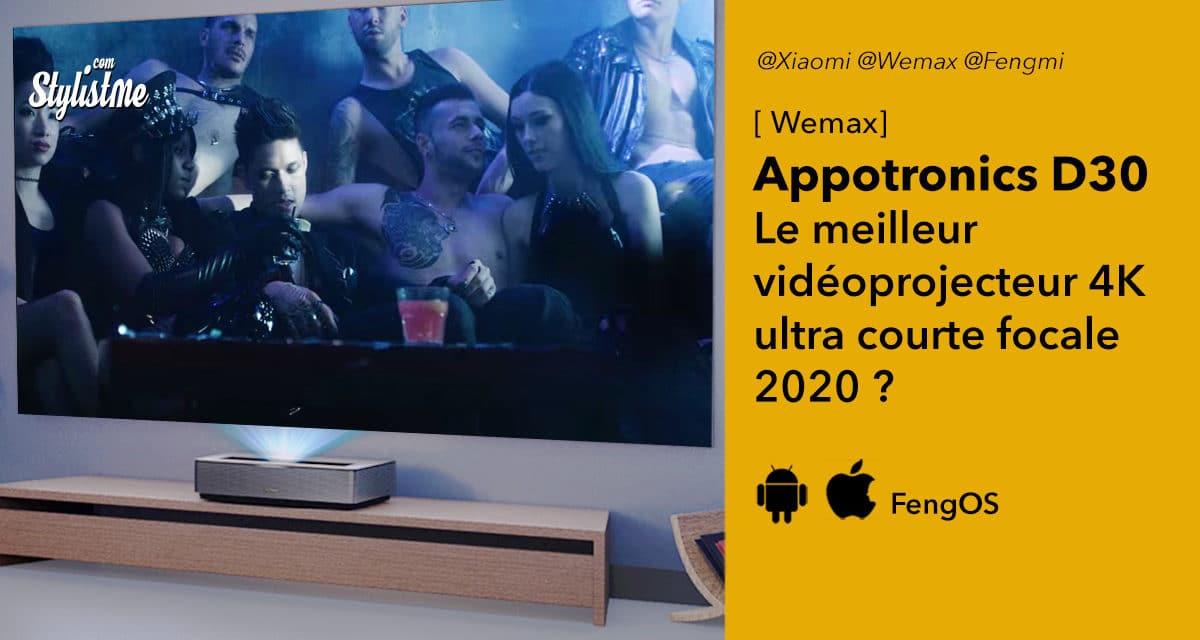 Wemax Appotronics D30 le vidéoprojecteur pour le home cinéma 4K