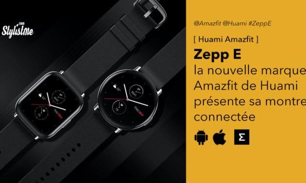 Zepp E montre connectée complète santé et activité (Amazfit Xiaomi)