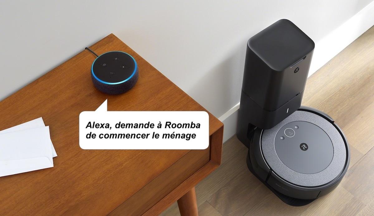 iRobot Roomba i3 plus Alexa