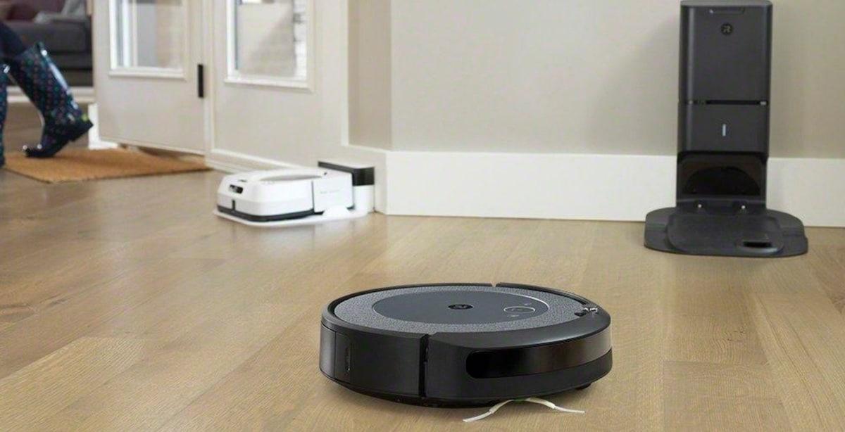 iRobot Roomba aspirateur et serpillere