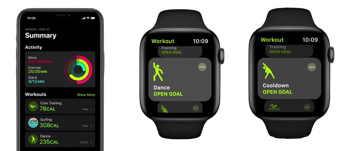 suivi sport Apple Watch 6
