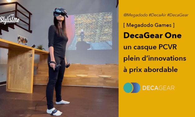 DecaGear 1 nouveau casque VR de Megadodo Games innovant et abordable