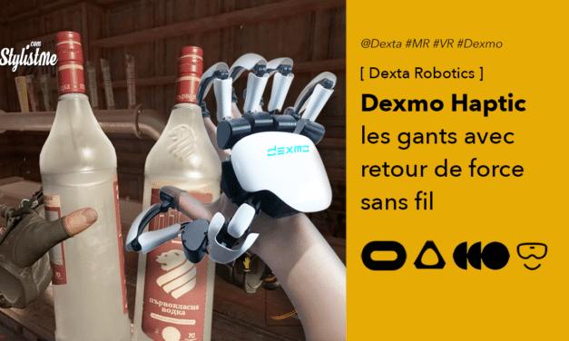 Dexmo Haptic les gants à retour de force pour casque de réalité virtuelle