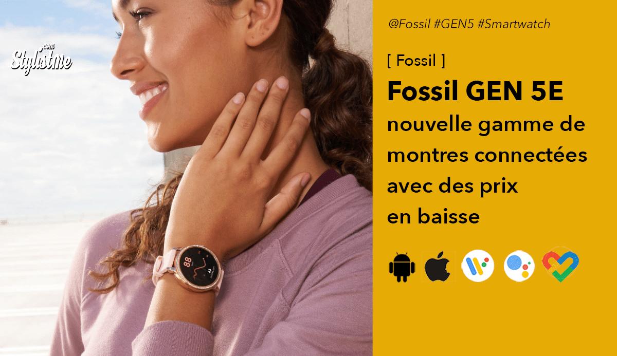 Fossil Gen 5E montre avis prix test