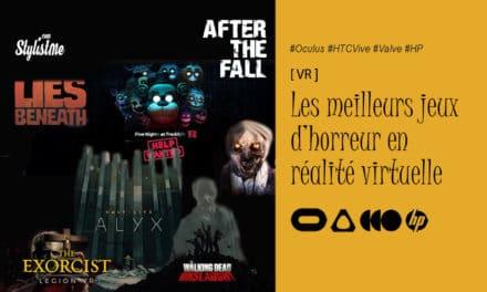 Meilleurs jeux d'horreur Oculus PCVR en réalité virtuelle spécial Halloween