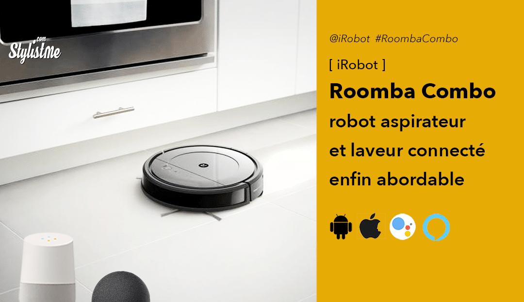 Roomba Combo test avis iRobot