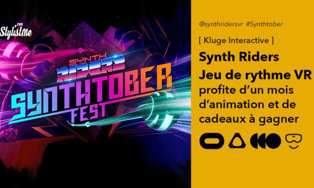 Synth Riders vous fait danser en VR pendant le Synthober Fest