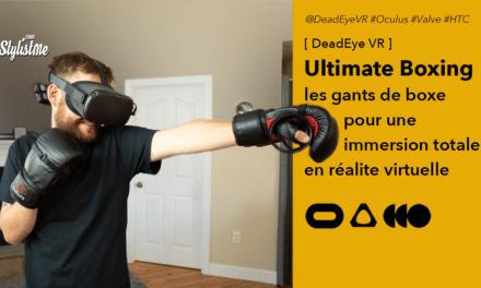 Ultimate Boxing Gloves VR des gants de boxe pour la réalité virtuelle