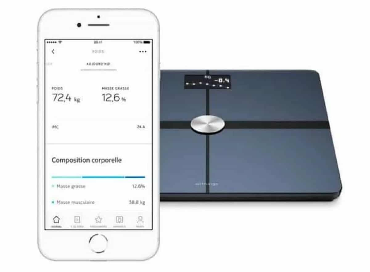 Withings Body+ précision des mesures