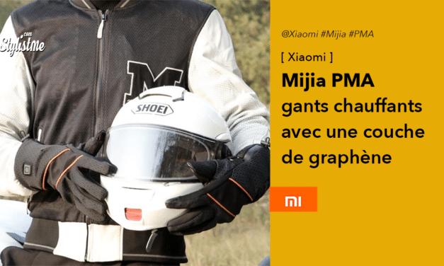 Xiaomi PMA : gants chauffants et connectés avec une couche de graphène