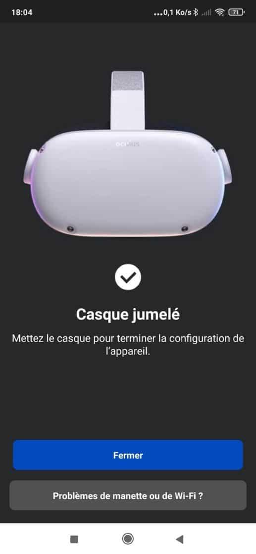 jumeler Oculus Quest 2