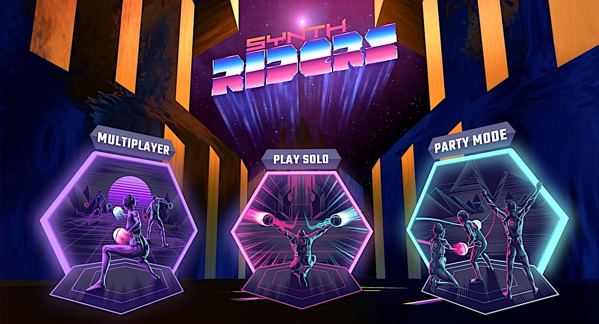 3 modes de jeu Synth Riders