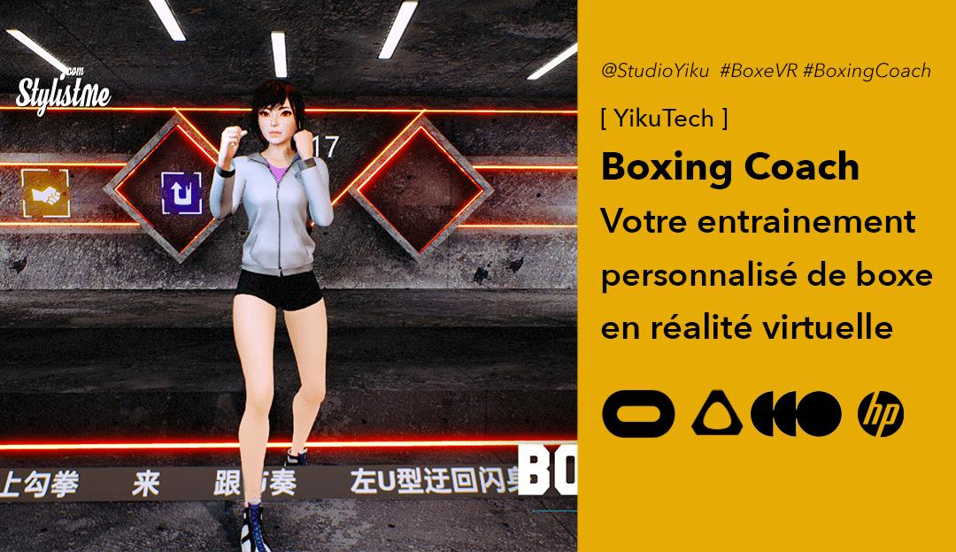 Boxing Coach VR votre cours de boxe anglaise en réalité virtuelle