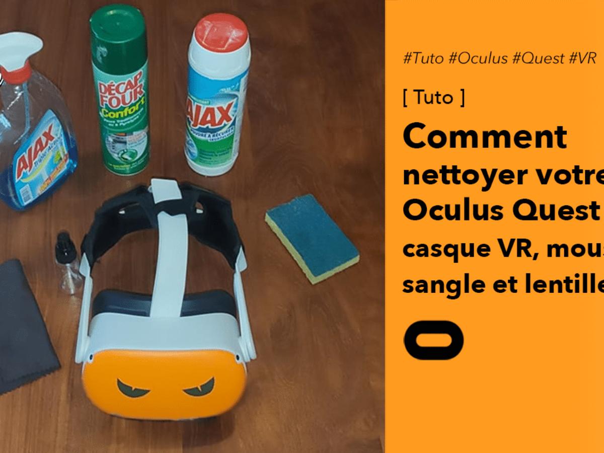 Accessoire AR//VR Cosmos Rift Drone Oculus Quest 2 et 1,HTC Vive HoloLens PS4 VR-Headset Valve Index Stylo de Nettoyage pour Casque de R/éalit/é Virtuelle VR +2 Lingettes Microfibre