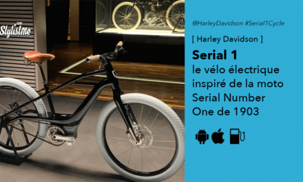 Harley Davidson Serial 1 le vélo électrique inspiré d'une moto de 1903