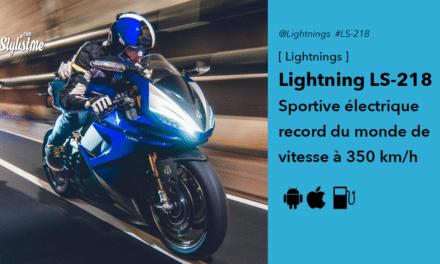 Lightning LS-218 sportive électrique de série championne de vitesse