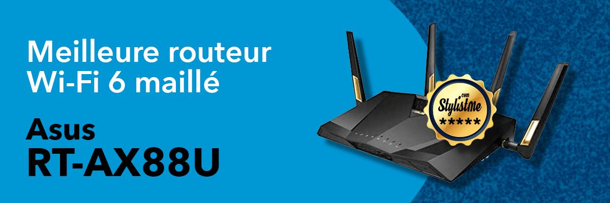 Meilleur routeur Wifi 6 ASUS RT-AX88U