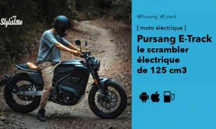 Pursang E-Track : scrambler électrique 125 cm3 avec 140 km d'autonomie