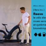 Reevo vélo électrique futuriste haut de gamme de chez Beno