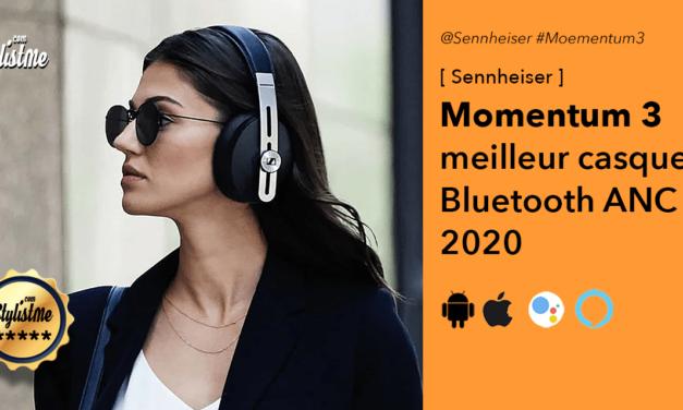 Sennheiser Momentum 3 test du casque Bluetooth avec réduction de bruit