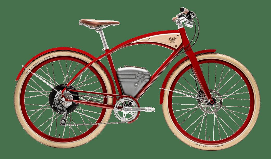 Vintage Electric Bike Cafe