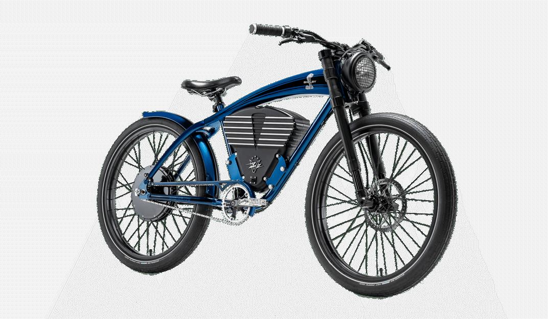 Vintage Electric Bike Shelby vélo électrique