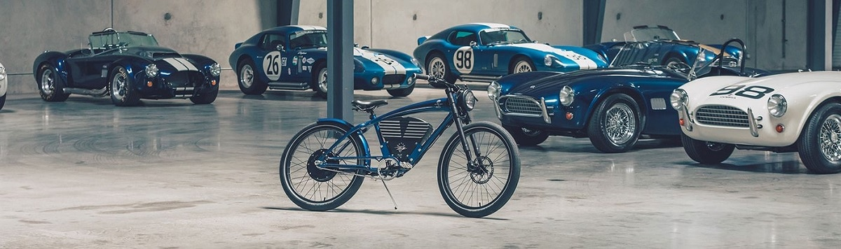 Vintage Electric Bike Shelby