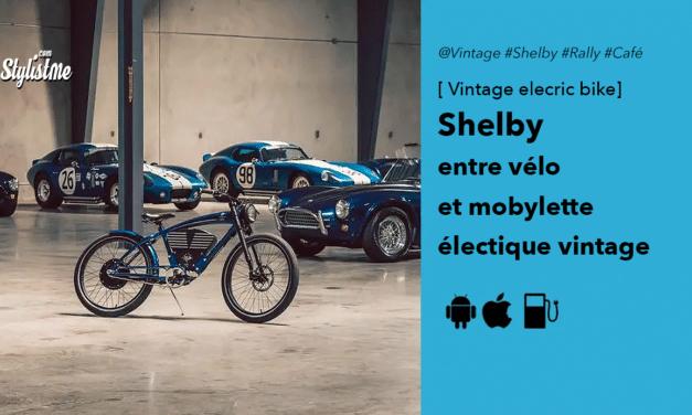 Vintage Electric Bike entre vélo et mobylette électrique au style roadster