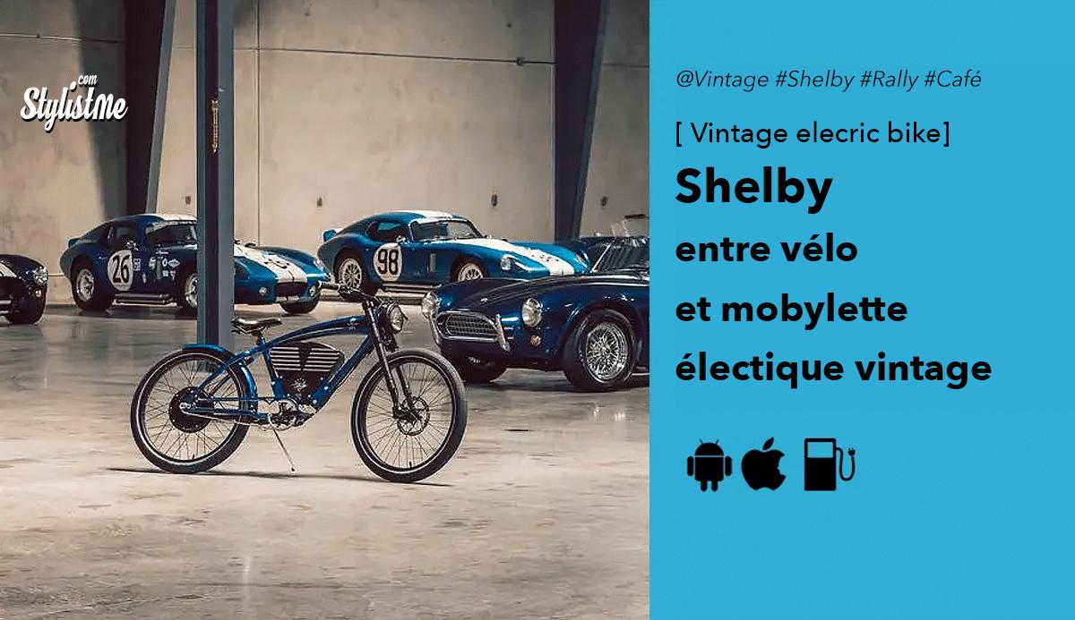 Vintage Electric Bike vélo electrique Shelby