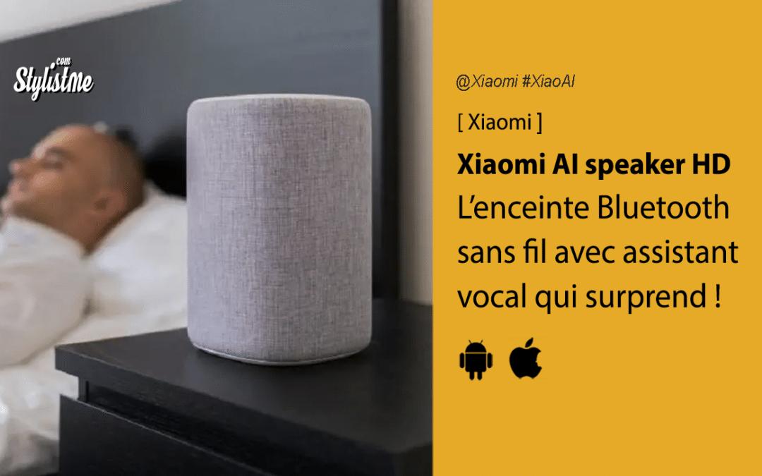 Xiaomi Mi Smart Speaker HD enceinte vocale Xiaoai avis test
