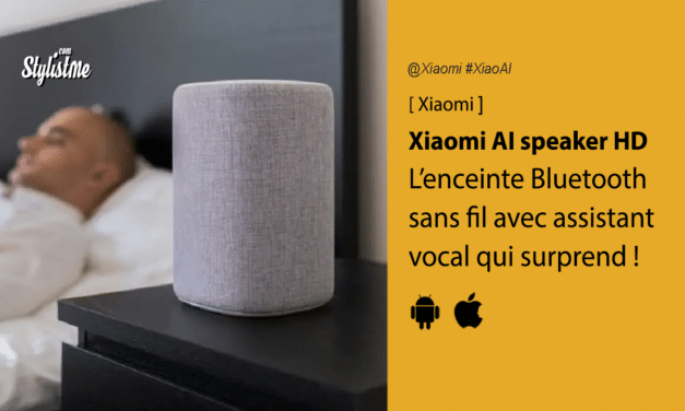 Xiaomi Mi Smart Speaker HD enceinte vocale Xiaoai avis test
