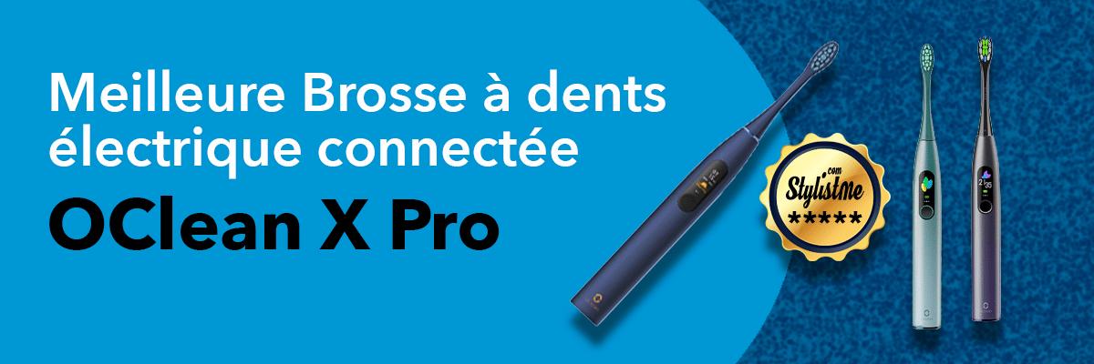 meilleure brosse à dents électrique OClean X Pro