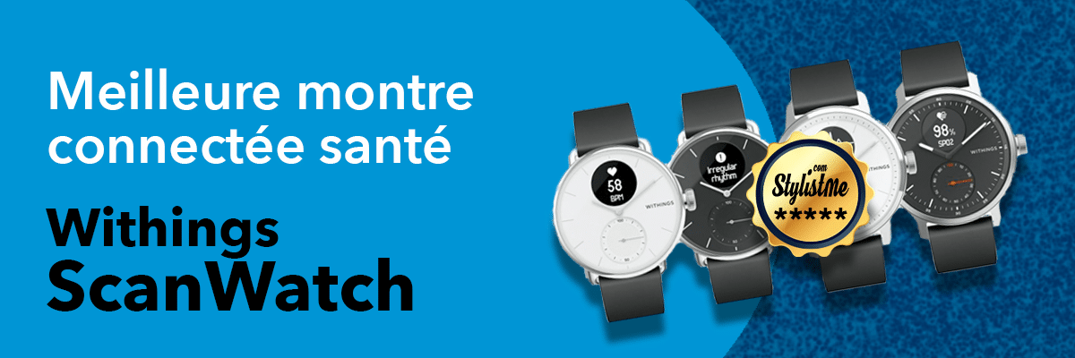 meilleure montre connectée Withings ScaanWatch