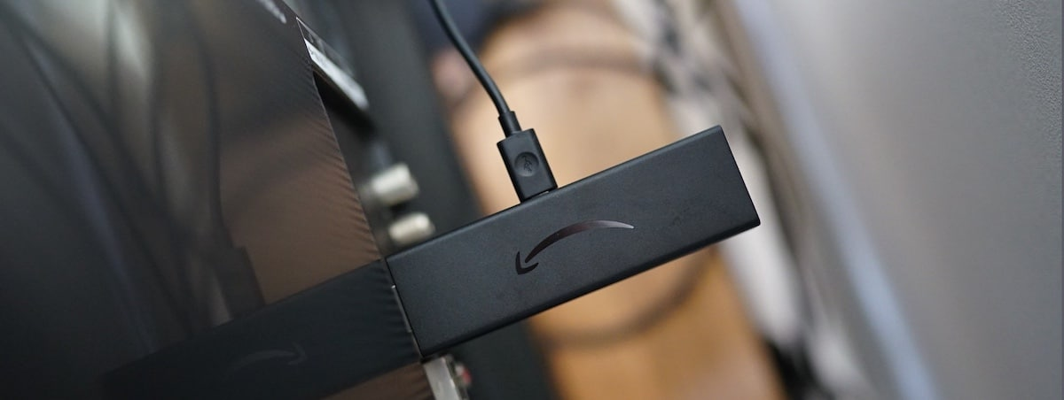 meuble intelligent connecté TV Fire Tv stick 4K