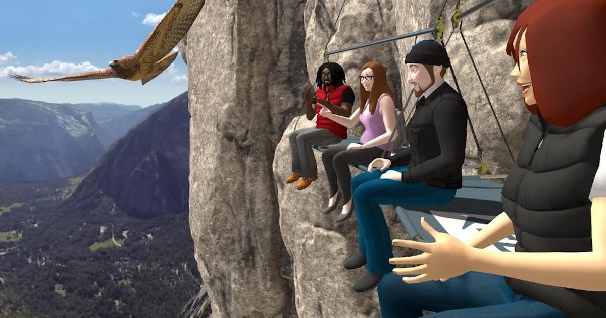 réunion en réalité virtuelle Oculus Quest 2