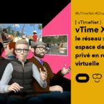 vTime XR réseau social et réunion en VR sur Oculus Quest et Quest 2