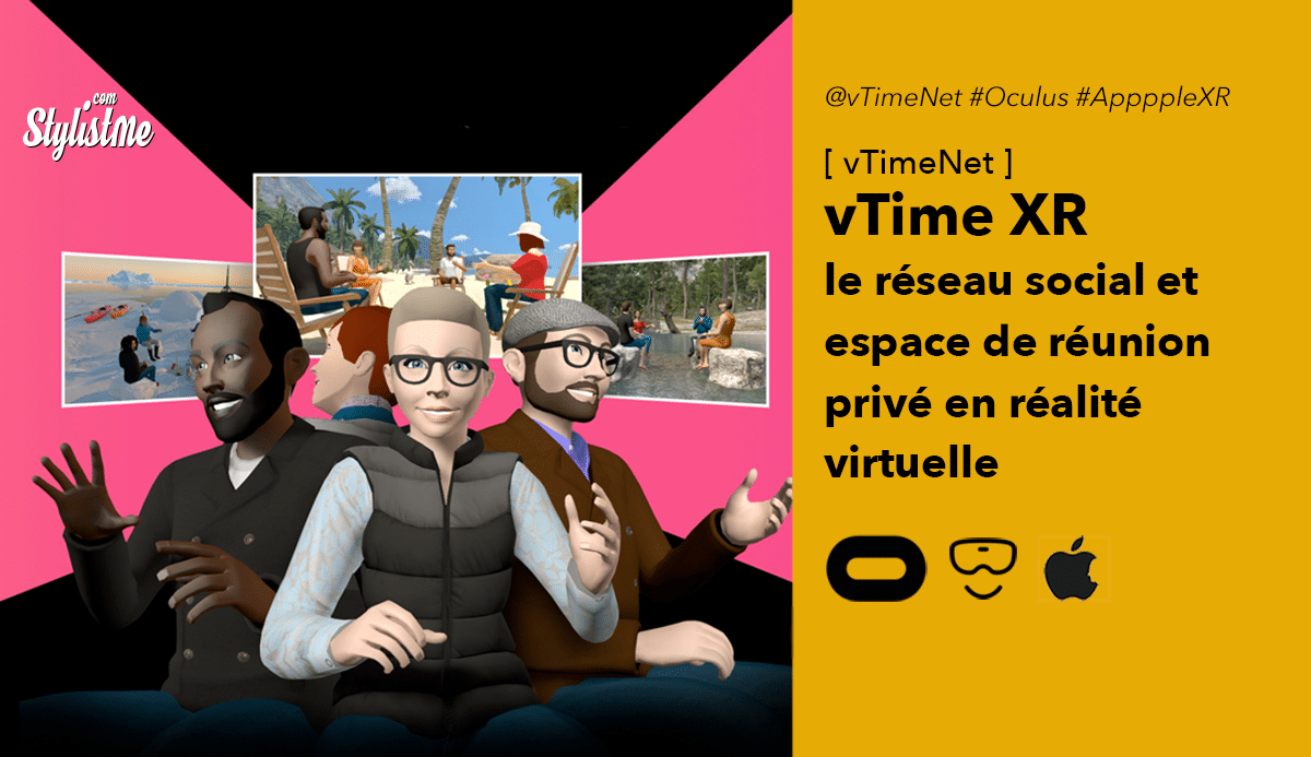 vTiime XR Oculus Quest Quest réunion réalité virtuelle