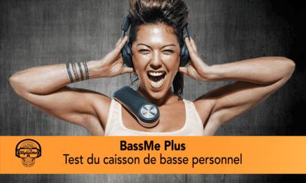 BassMe Plus test et avis : des basses pour vous faire vibrer en musique ou en jeu
